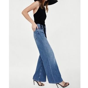 98fef4fd Zara Vintage High Waist Flare Jeans nwt NWT